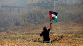 Handicapé palestinien