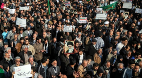 Rassemblement en Iran