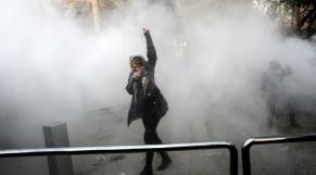 Iranienne manifestante