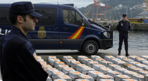 Saisie cocaïne en Espagne