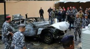 Voiture piégée Liban 2