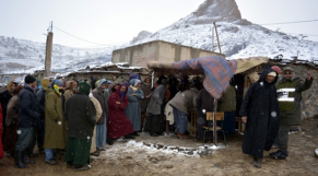 Grand Froid aide aux populations reculées