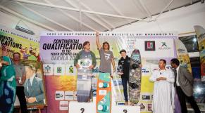 Ouahmid kitsurfeur