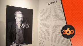 cover vidéo:Le360.ma •Exposition rétrospective en hommage à Mohammed Chabâa