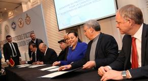Signature-convention-médiation-sociale-CGEM-et-syndicats