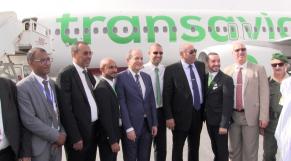 Transavia vol inaugural Dakhla Paris 26 octobre 2017