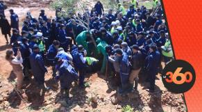 Cover Vidéo - Agence Vallée Bouregreg plante 2000 arbres à l'occasion de la journée de la femme
