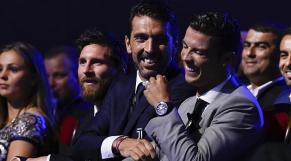 Buffon, Messi et Ronaldo