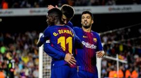 Dembélé et Messi