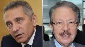 Moulay Hafid Elalamy et Ahmed Lahlimi