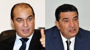 Mohamed Ouzzine et Mohamed Moubdiî