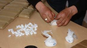 Saisie de cocaïne à l'aéroport Mohammed V