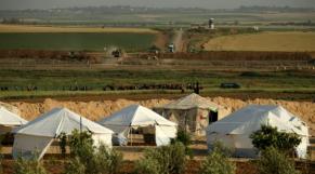 Tentes palestiniennes