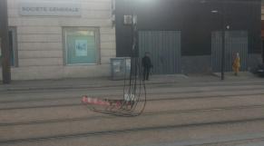 lignes électrique tram