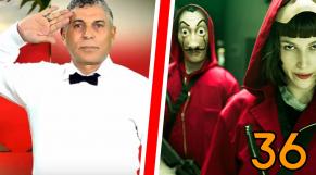 cover Video -  Le360.ma • Journan 36 -EP23  في الموسم الثالث LA CASA DE PAPEL الستاتي يسبق
