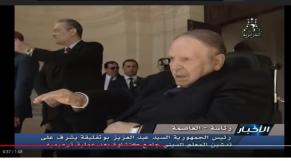 Vidéo. Algérie: Furtif signe de vie de Bouteflika