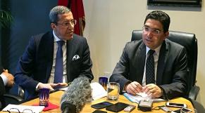Nasser Bourita et Omar Hilale