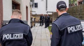 Police allemande évacuation