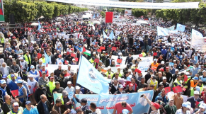 Syndicats manifestation