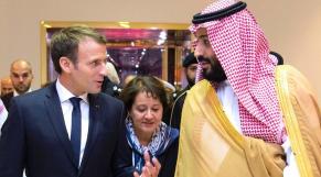 Macron et Ben Salmane