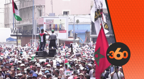 cover Video -مسيرة الدارالبيضاء لمساندة الشعب الفلسطيني