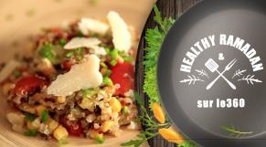 cover Video -Le360.ma • Salade de quinoa au poulet, un must taste !