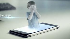 smartphone holographique