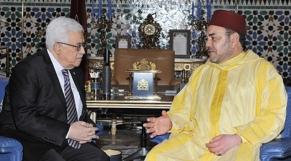 Roi et Mahmoud Abbas