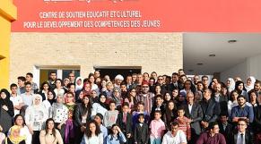 Roi Mohammed VI-Centre pour jeunes à Casablanca