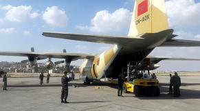 Arrivée en Jordanie du deuxième lot de l'aide humanitaire marocaine dédiée au peuple palestinien