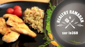cover Video - Le360.ma • Healthy Ramadan : L'après ftour light : Poulet aux épices et son riz safrané