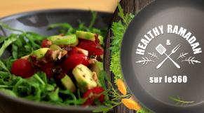 cover: Healthy Ramadan : L'instant fraicheur : salade de courgettes à la menthe