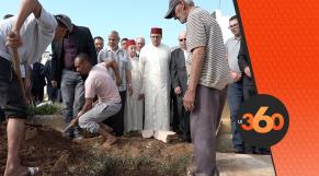 cover Video -Le360.ma • تشييع جنازة الفنان التشكيلي حسن الكلاوي