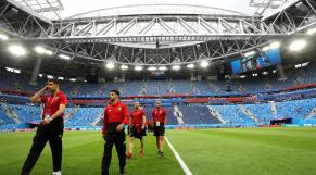 Les Lions au Stade de Moscou