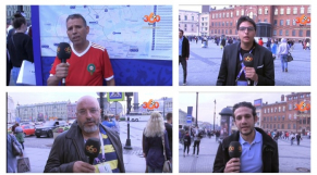 Supporters arabes en Russie