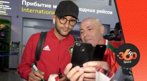 Arrivée des Lions à Voronej