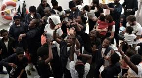 Migrants de l'Aquarius