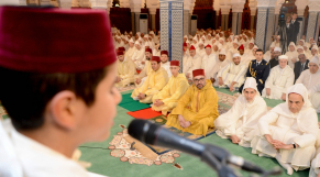 Roi Mohammed VI Prière Laylat al-Qadr