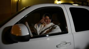 Saoudienne au volant