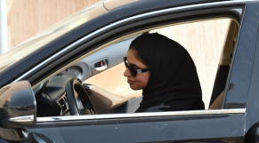 Saoudienne au volant 3