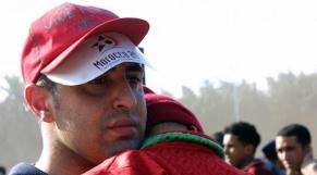 supporter marocain déçu