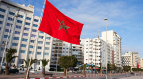 Régionalisation drapeau marocain