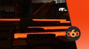 cover vidéo: Le360.ma •SONASID: tout savoir sur la production de la billette au niveau de l'aciérie