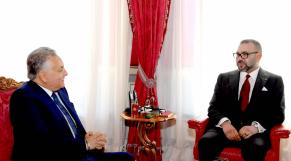 Mohammed VI et Nabil Benabdellah