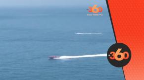 cover Video -Le360.ma • الملك يحل بمارينا طنجة عبر زورق سريع