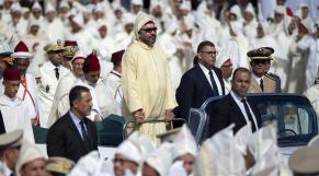 Mohammed VI Roi Fête du Trône