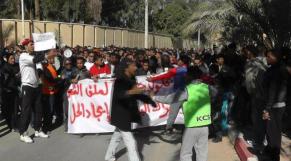 Manifestants Ouargla
