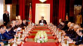 Conseil des ministres Mohammed VI