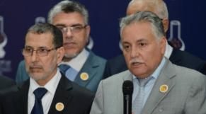 Saâd-Eddine El Othmani et Mohamed Nabil Benabdellah
