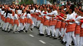 Indonésie record du monde de danse-2